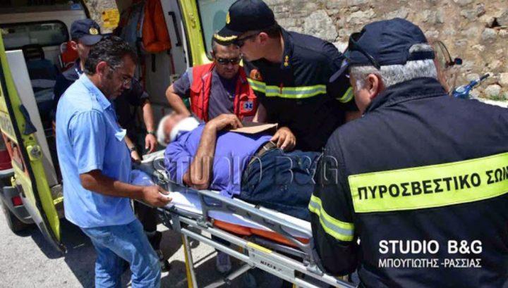 Τραυματίστηκε τουρίστας στον αρχαιολογικό χώρο Μυκηνών