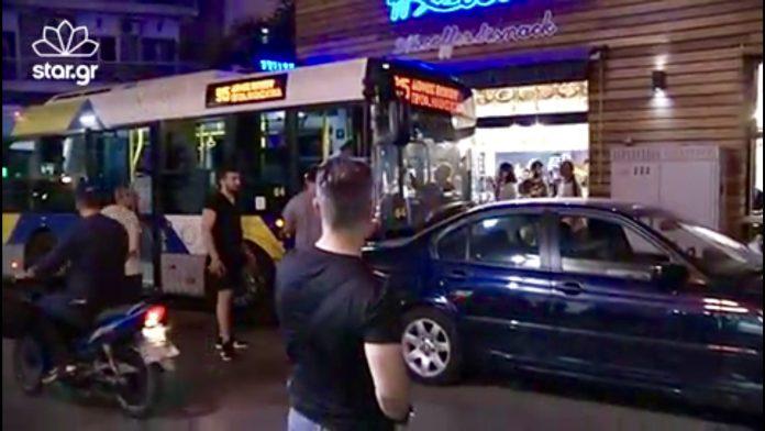 Οδηγος λεωφορειου εσπειρε τον τρομο παθαινωντας εμφραγμα