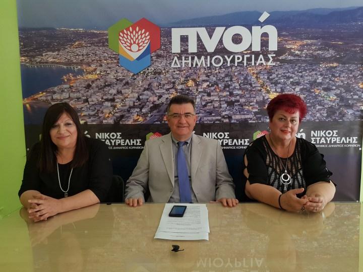 Νέες Υποψηφιότητες Δημοτικών Συμβούλων Του Συνδυασμού ''Πνοή Δημιουργίας''