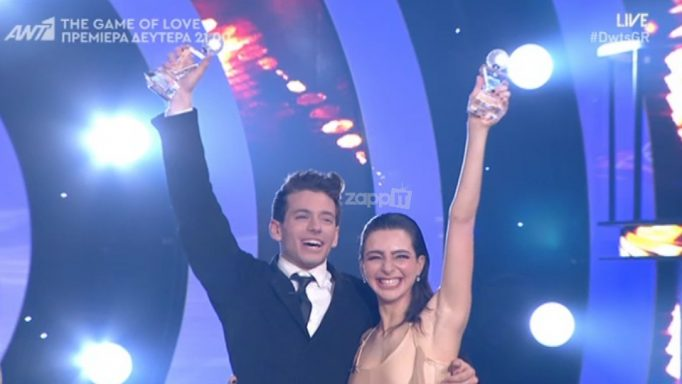 Dancing with the stars 6: Μεγάλος νικητής ο Βαγγέλης Κακουριώτης!