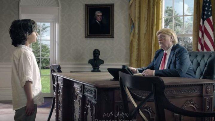 Παγκόσμιο viral η διαφήμιση με τον μικρό μουσουλμάνο που συναντά Μέρκελ, Τραμπ και Πούτιν