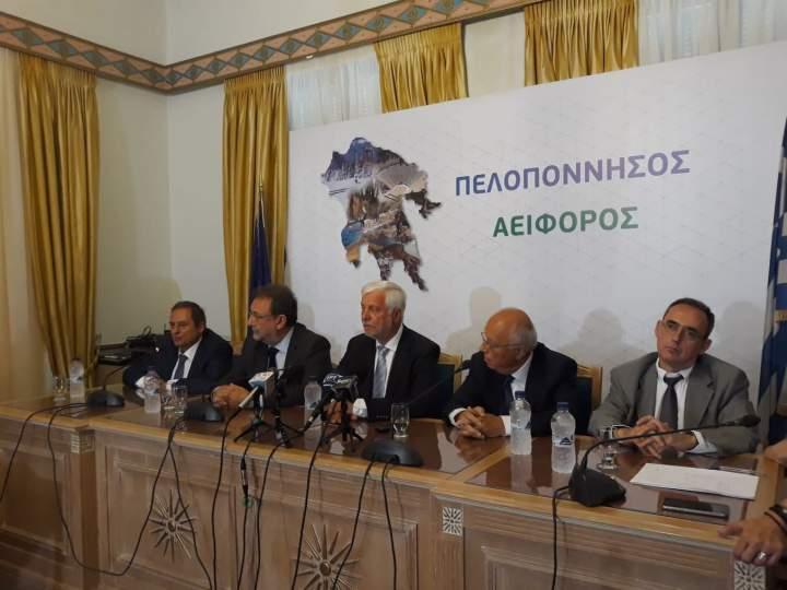 Υπογραφή της Σύμβασης για την «Ολοκληρωμένη Διαχείριση των Στερεών Αποβλήτων» της Περιφέρειας Πελοποννήσου με ΣΔΙΤ