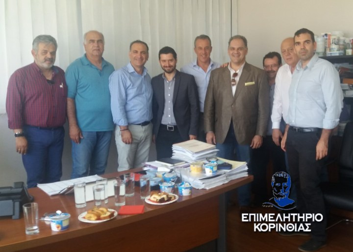 Κλιμάκιο της ΝΔ με επικεφαλής τον Δρ. Κωνσταντίνο Ν. Μπαγινέτα