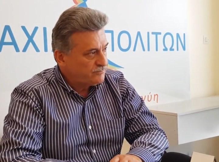 Νανόπουλος: Εχει ευθύνες ο δήμος κορινθίων γιατί δεν έκανε τίποτα μέχρι σήμερα στο θέμα της έλλειψης νερού άρδευσης.