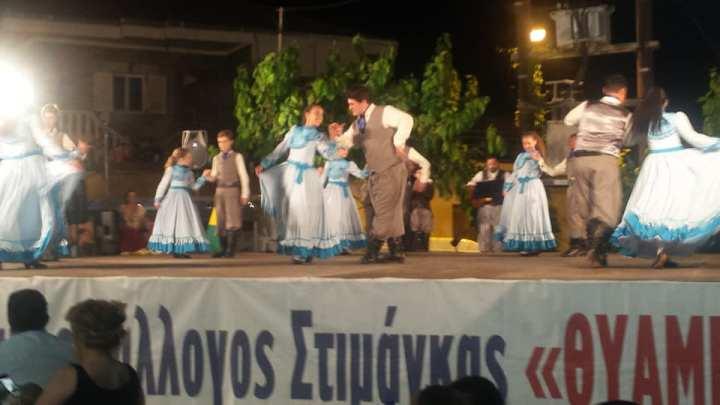 Μαγική βραδιά στο πρώτο διεθνές παιδικό φεστιβάλ παραδοσιακών χορών