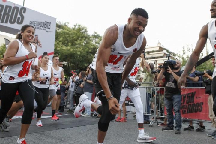 Antetokounbros 5K Run – H Αθήνα έτρεξε για καλό σκοπό με τους αδερφούς Αντετοκούνμπο