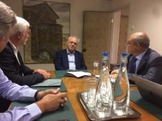 Συνάντηση του Αντιπροέδρου της Κυβέρνησης και Υπουργού Οικονομίας και  Ανάπτυξης με τον Περιφερειάρχη Πελοποννήσου