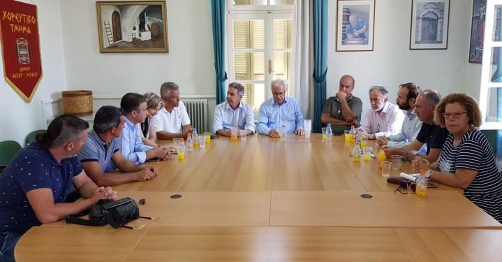 Β. Αποστόλου:  Θα εξαντληθούν όλες οι δυνατότητες για να αποζημιωθούν όλοι οι αγρότες της Κορινθίας από τις πρόσφατες ζημιές