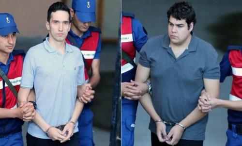 Ελεύθεροι οι δύο Έλληνες στρατιωτικοί: Επιστρέφουν στους δικούς τους