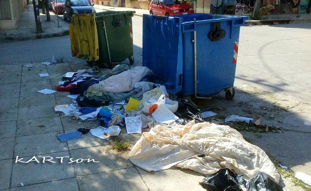 Αφού μιλάμε για σκουπίδια. Σε ποια πόλη νομίζετε τα είδα αυτά  Δευτέρα 17-9-2018;