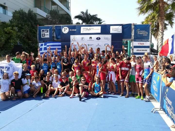 Στο επικεντρο του αθλητικου τουρισμο το Λουτρακι με το Ευρωπαϊκο Φεστιβάλ Τριάθλου Νέων