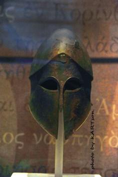 Κόρινθος: Το Κορινθιακό κράνος με το ένδοξο παρελθόν.