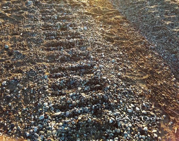 Κόρινθος, σήμερα παραλία «Καλάμια»: Εμ, έτσι δεν γίνεται σωστή δουλειά.