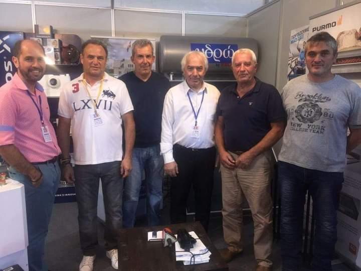 Επίδειξη δύναμης από το ΥΔΡΩ στην Έκθεση Πελοποννησος 2018