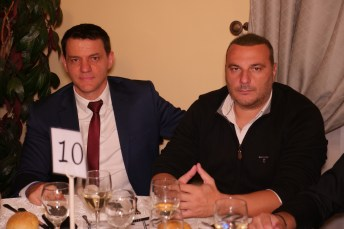 Ο πρόεδρος του Χιλιομοδίου Δημ Μπίτζιος με το Διευθυντή του Καζίνο Θανάση Τσατσούλη