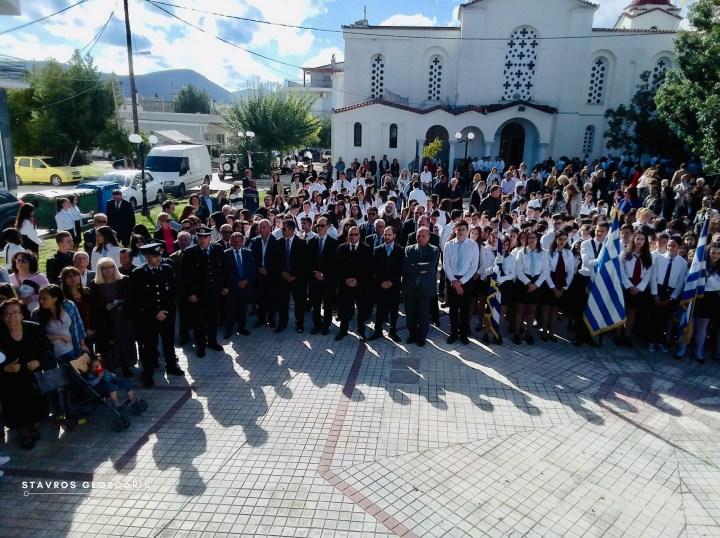 Με τιμές γιορτάστηκε το ΟΧΙ στο Χιλιομόδι (photo-video)