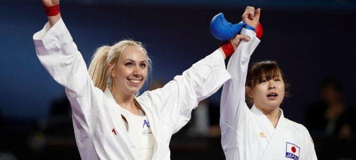 Ελληνίδα καρατέκα από χρυσό -Παγκόσμια πρωταθλήτρια η Ελένη Χατζηλιάδου