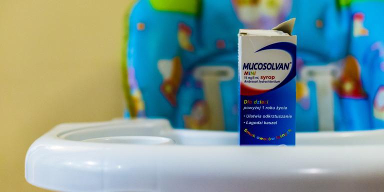 Ο ΕΟΦ ανακαλεί παρτίδες του σιροπιού Mucosolvan