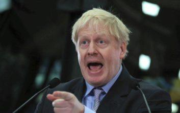 «Βόμβα» από τον Μπόρις Τζόνσον για άτακτο Brexit