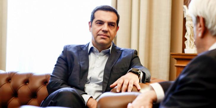 Πάει στον πρόεδρο της Δημοκρατίας για εκλογές ο Τσιπρας