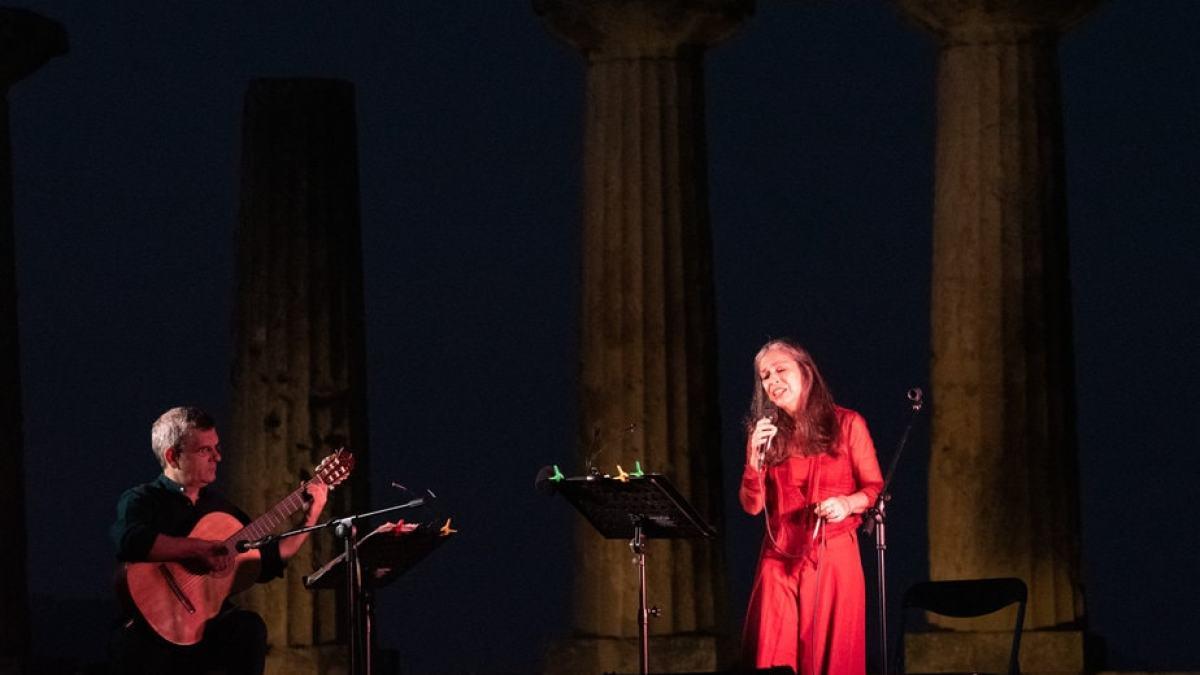 Μια μαγική βραδιά στον αρχαιολογικό χώρο της Αρχαίας Κορινθου
