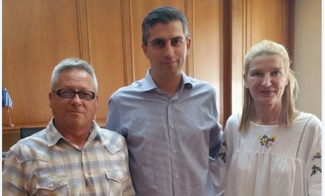 Συνάντηση εργαζομένων με τον Χρ. Δήμα για το Loutraki Thermal Spa