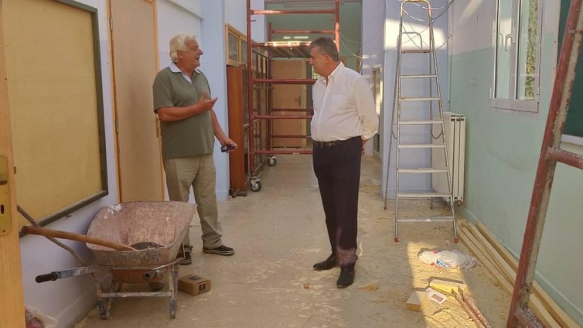 Δε θα είναι έτοιμο το Δημοτικό σχολείο της Αρχαιας Κορίνθου για το πρώτο φετινό κουδούνι