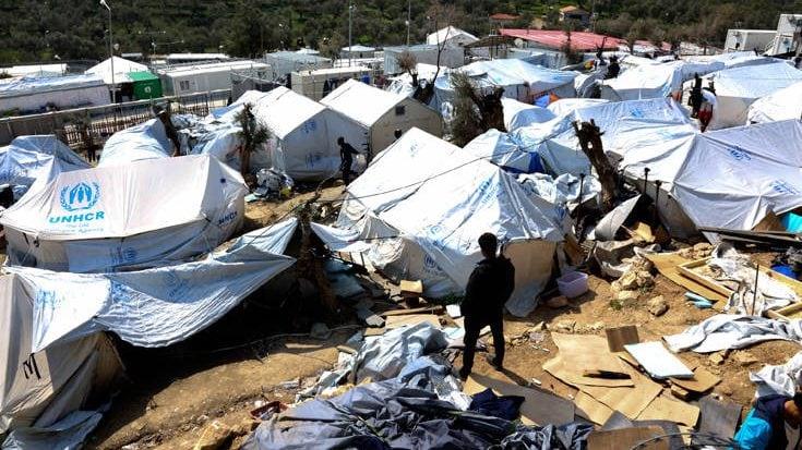Ασφυκτιά η Μόρια: 12.000 πρόσφυγες ζουν στον καταυλισμό