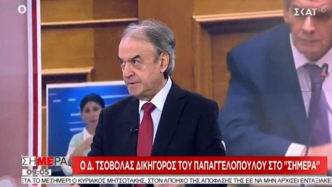 Τσοβόλας για προανακριτική: Άκυρη η διαδικασία αν εξαιρεθούν Τζανακόπουλος – Πολάκης