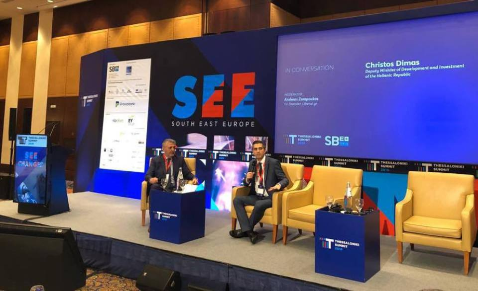 Ο Χρίστος Δήμας στο Thessaloniki Summit 2019«Στόχος μας είναι να συνδέσουμε την Έρευνα με την επιχειρηματικότητα»