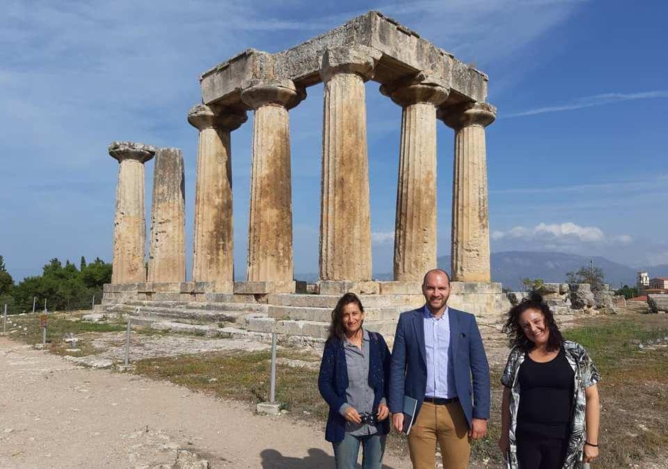 Ο Αντιδήμαρχος Παιδείας, Πολιτισμού και Τουρισμού Τιμολέων Πιέτρης επισκέφθηκε το Μουσείο της Αρχαίας Κορίνθου