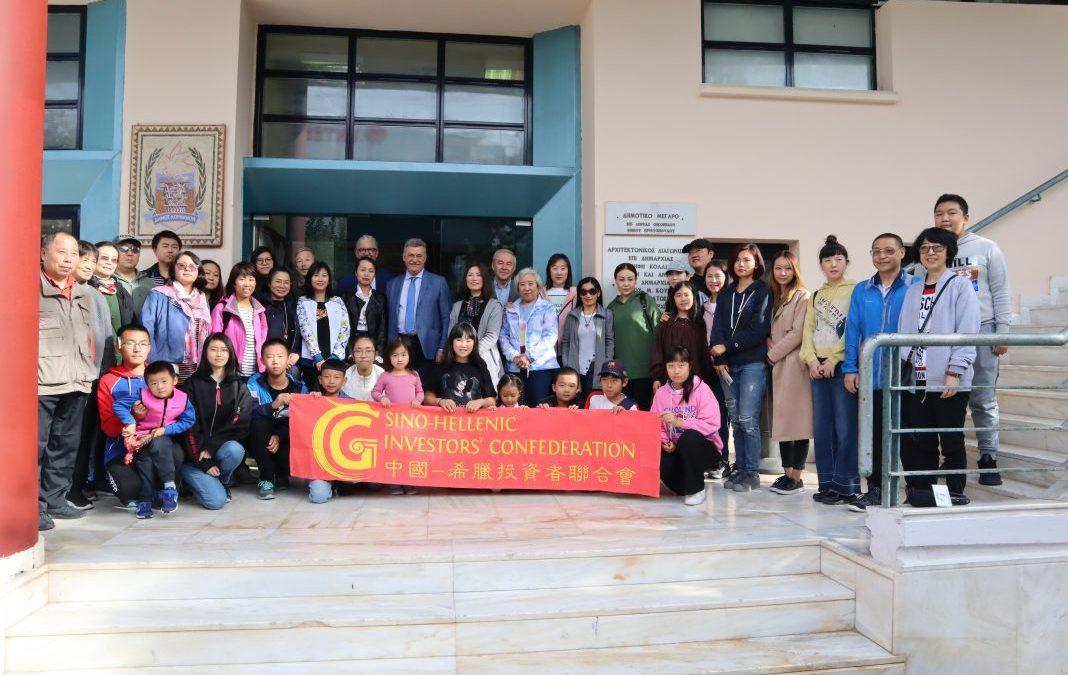Επιτροπή του Συνδέσμου Επενδυτών της Κίνας συναντήθηκε με το δήμαρχο Κορινθίας Βασίλη Νανόπουλο