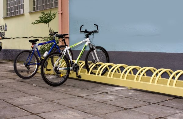2ο ΓΥΜΝΑΣΙΟ ΚΟΡΙΝΘΟΥ  Parking Ποδηλάτων – Θερμές ευχαριστίες!
