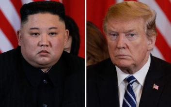 Στον πάγο οι σχέσεις ΗΠΑ – Βόρειας Κορέας: Η Πιονγιάνγκ «ανησυχεί» πως ο Τραμπ βυθίζεται στην άνοια