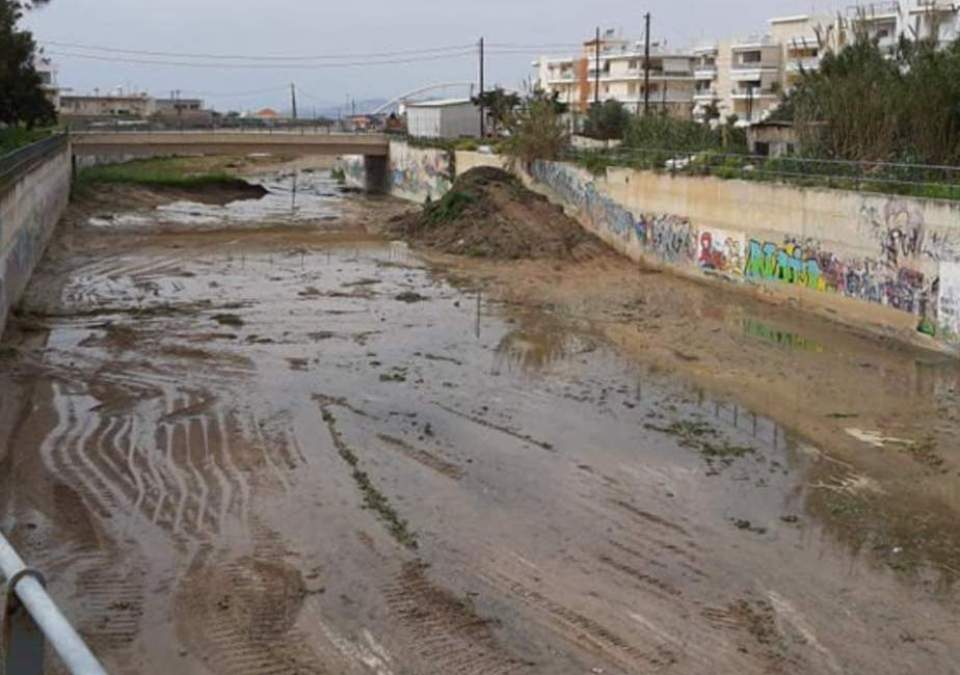 Καθάρισαν τη μπούκα του Ξηριά στο Δήμο Κορινθίων