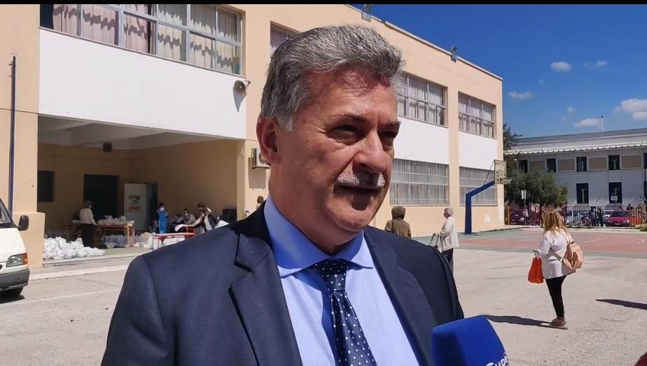 Δήμαρχος Κορινθίων: Πρώτη φορά ο δήμος μοίρασε τέτοια ποσότητα τροφίμων