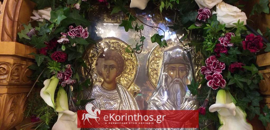 Κράτησε το έθιμο με τους καβαλάρηδες ο ιερός ναός Αγίου Γεωργίου στην Κόρινθο