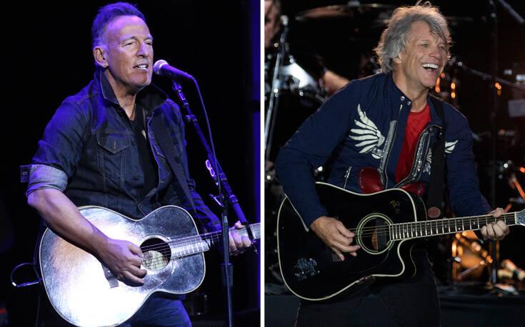 Κορονοϊός: Διαδικτυακή συναυλία με Bruce Springsteen και Jon Bon Jovi