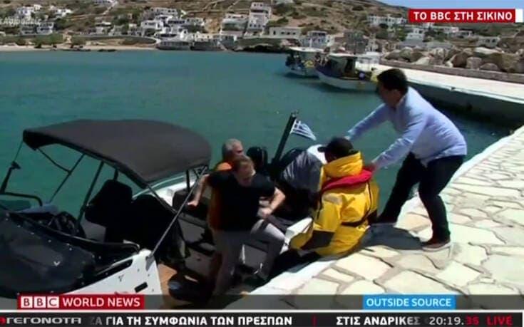 Οδοιπορικό του BBC στη Σίκινο – Οι Βρετανοί «ψηφίζουν» Ελλάδα