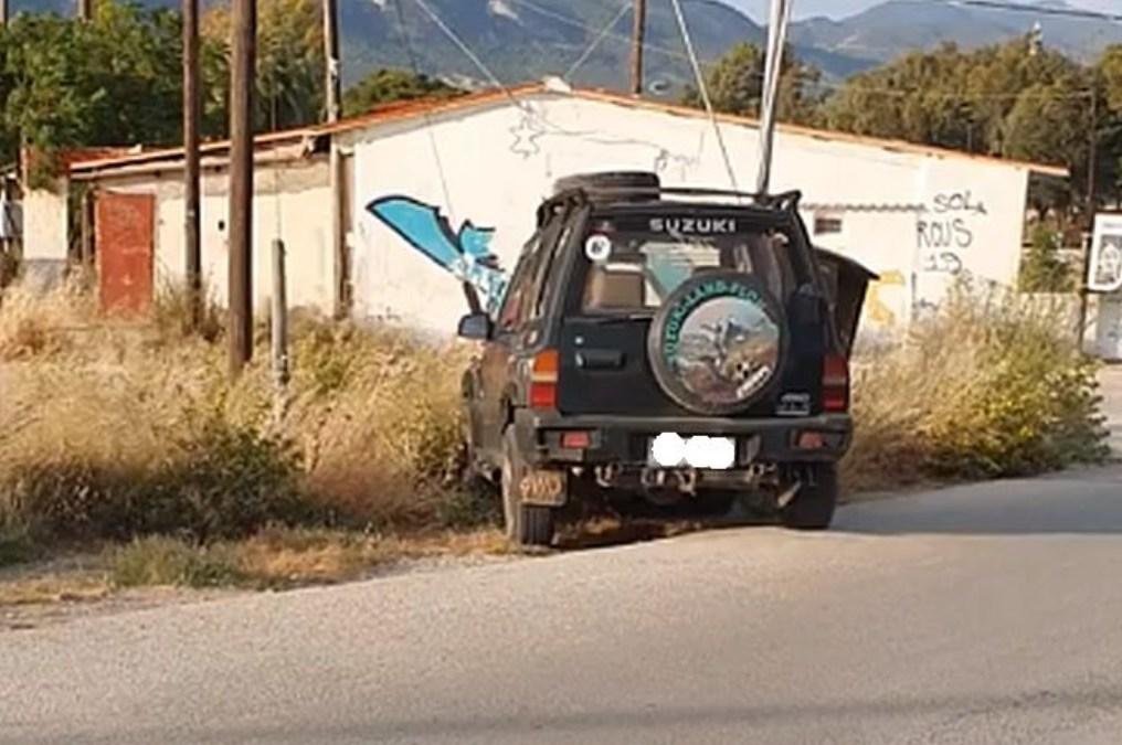 ΛΟΥΤΡΑΚΙ – Ι.Χ αυτοκίνητο διέγραψε τρελή πορεία χωρίς οδηγό ! (ΒΙΝΤΕΟ)