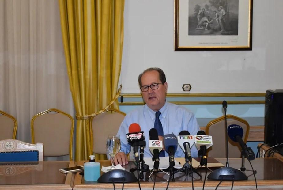Ικανοποίηση του περιφερειάρχη Π. Νίκα από τη συνάντησή του με τον πρωθυπουργό Κ. Μητσοτάκη