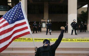 George Floyd: Συνεχίζονται οι ταραχές- Στρατό βγάζει στους δρόμους ο Τράμπ
