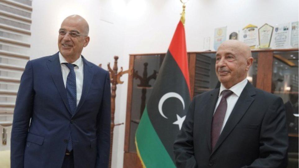 Δένδιας: Το μυστικό της ξαφνικής επίσκεψης στη Λιβύη