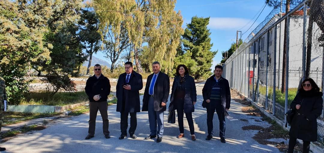 Παραχωρήθηκε στο δήμο Κορινθίων έκταση 10 στρεμμάτων του στρατοπέδου Καλογερογιάννη