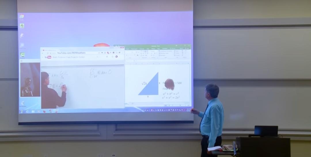 ΠΡΕΠΕΙ να δείτε πως ένας μαθηματικός τρέλανε τους μαθητές του