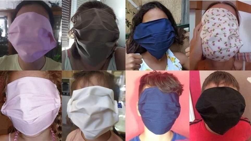 Μάσκες XL: Τελικά ποιος… έραψε λάθος τις μάσκες για τα σχολεία