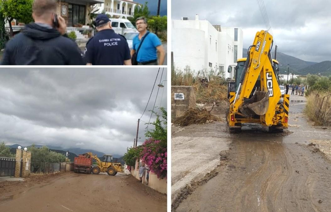Δήμος Κορινθίων: Συνεχίζεται η αποκατάσταση ζημιών στα Λουτρά Ωραίας Ελένης – Σε προτεραιότητα η κατασκευή του δικτύου ομβρίων υδάτων