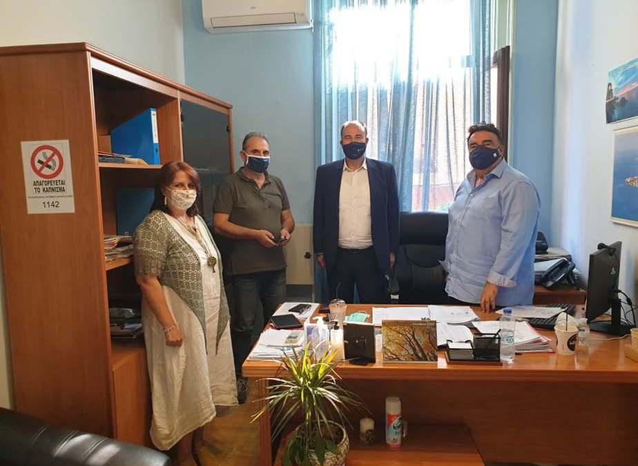 Συναντήσεις αντιπεριφερειάρχη Τάσου Γκιολης στο Δήμο Ξυλοκάστρου Ευρωστίνης
