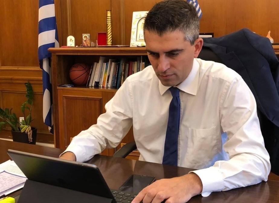 Χρίστος Δήμας : «Τις επόμενες ημέρες θα παραλάβουμε επιπλέον 635 tablets για την ενίσχυση του εκπαιδευτικού έργου των μαθητών και των καθηγητών μας»