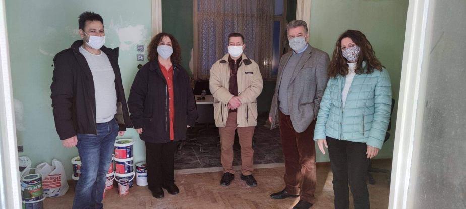 Επίσκεψη του Δημάρχου Κορινθίων στο χώρο του ΦΑΣΜΑ